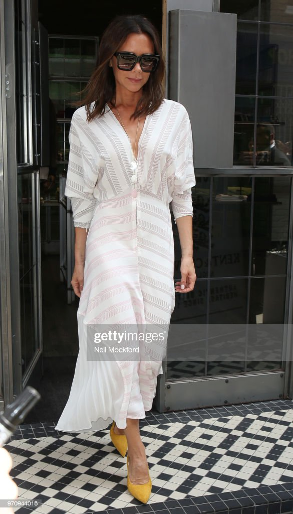 London Celebrity Sightings -  June 10, 2018 : News Photo