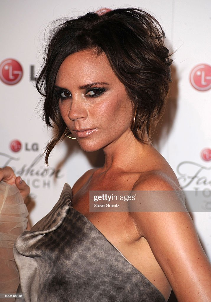 Victoria Beckham attends A Night Of Fashion & Technology With LG Mobile Phones Hosted By Victoria Beckham & Eva Longoria at Soho House on May 24, 2010 in West Hollywood, California.