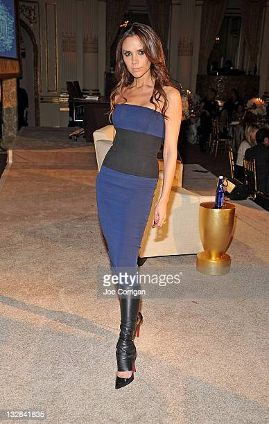 Victoria Beckham attends the 2011 WWD Apparel Retail CEO Summit at The Plaza Hotel on November 14 2011 in New York City