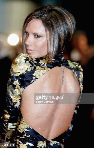 Victoria Beckham attends the 58th annual Bambi Awards at the MercedesBenz Museum on November 30 2006 in Stuttgart Germany Bambi is Germany's biggest...