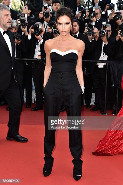 Victoria Beckham attends the 'Cafe Society' premiere and the Opening Night Gala during the 69th annual Cannes Film Festival at the Palais des...