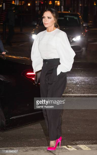 Victoria Beckham attends the Portrait Gala 2019 at the National Portrait Gallery on March 12 2019 in London England