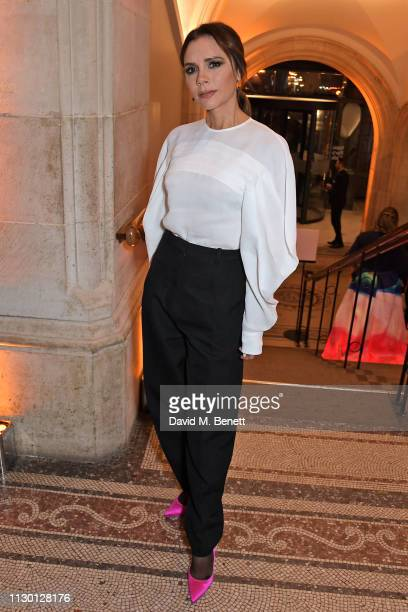 Victoria Beckham attends The Portrait Gala 2019 hosted by Dr Nicholas Cullinan and Edward Enninful to raise funds for the National Portrait Gallery's...