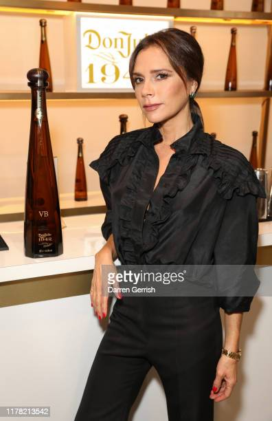 Victoria Beckham attends Victoria Beckham and Sotheby's celebration of Andy Warhol with Don Julio 1942 at her Dover Street store on September 30 2019...