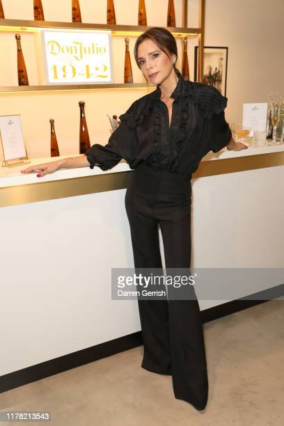 Victoria Beckham attends Victoria Beckham and Sotheby's celebration of Andy Warhol with Don Julio 1942 at her Dover Street store, on September 30,...