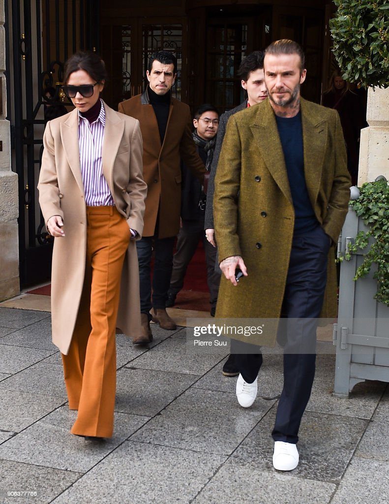 Celebrity Sightings -Paris Fashion Week - Menswear Fall Winter 2018/2019 : Day Three