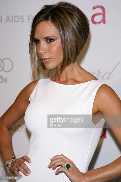 Victoria Beckham during 15th Annual Elton John AIDS Foundation Oscar Party at Pacific Design Center in Los Angeles, California, United States.