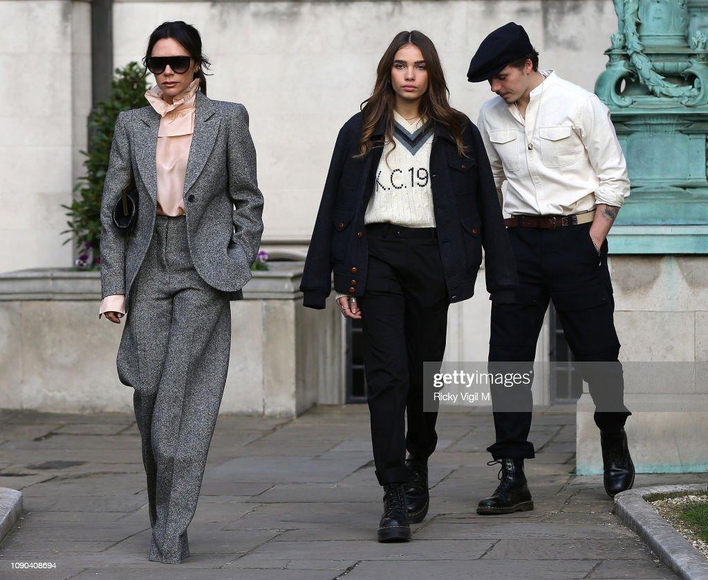 London Fashion Week Mens January 2019 Sightings - Day 2 : News Photo