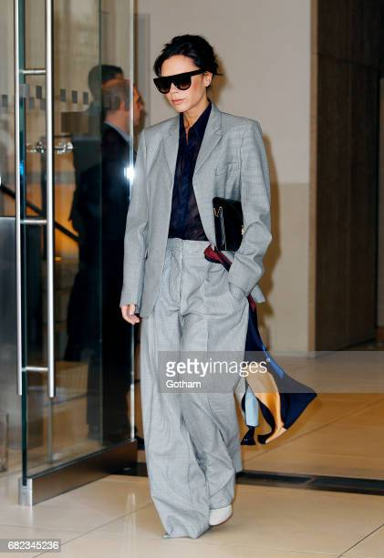 Victoria Beckham heads out of her hotel on May 13 2017 in New York City