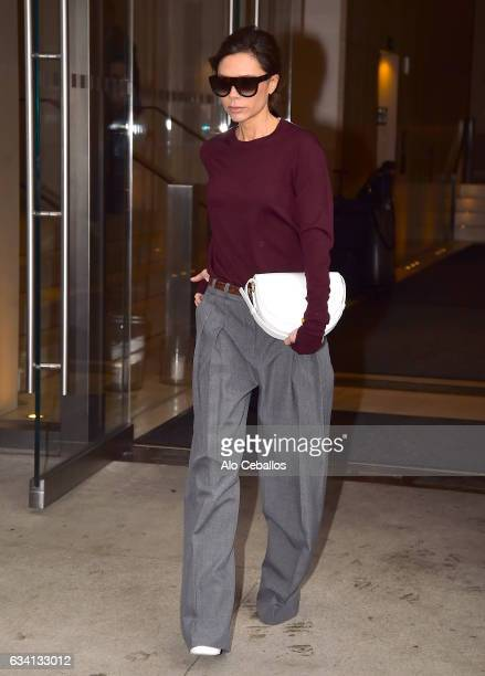 Victoria Beckham is seen in Chelsea on February 7 2017 in New York City