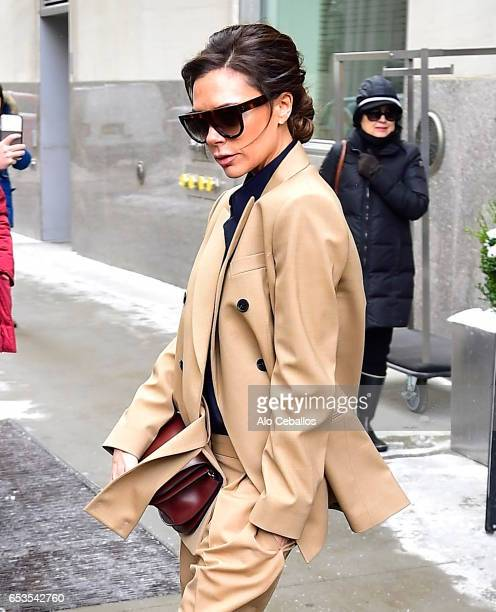 Victoria Beckham is seen in Chelsea on March 15 2017 in New York City on