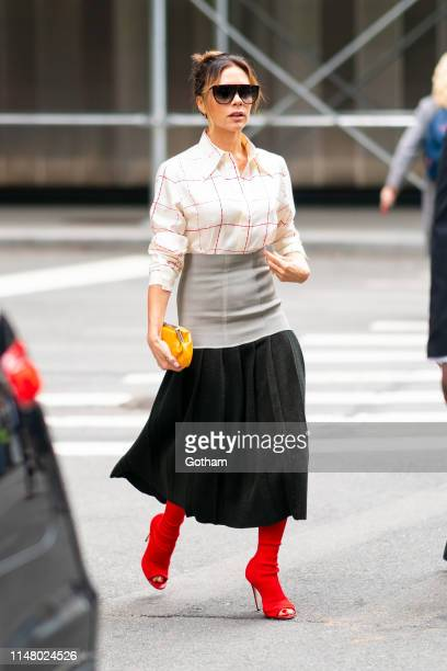 Victoria Beckham is seen in Tribeca on May 09, 2019 in New York City.