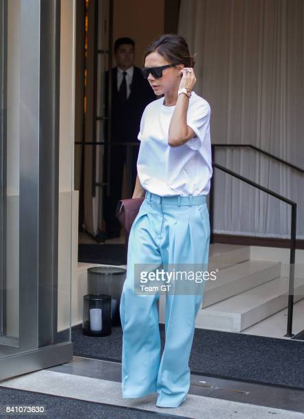Victoria Beckham is seen on August 30 2017 in New York City