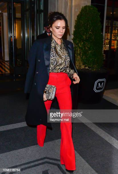 Victoria Beckham is seen on January 22 2019 in New York City