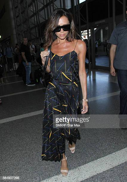 Victoria Beckham is seen on July 31 2016 in Los Angeles California