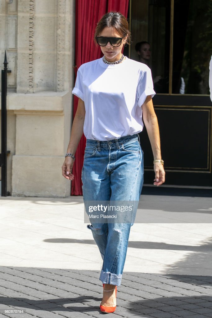 Celebrity Sightings In Paris - June 24, 2018