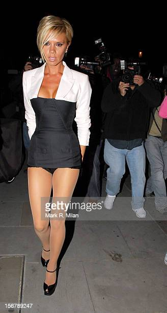 Victoria Beckham is seen on June 5 2007 in London England