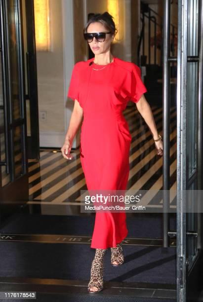 Victoria Beckham is seen on October 16, 2019 in New York City.