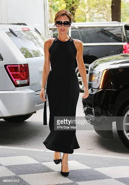 Victoria Beckham is seen on September 28, 2015 in New York City.