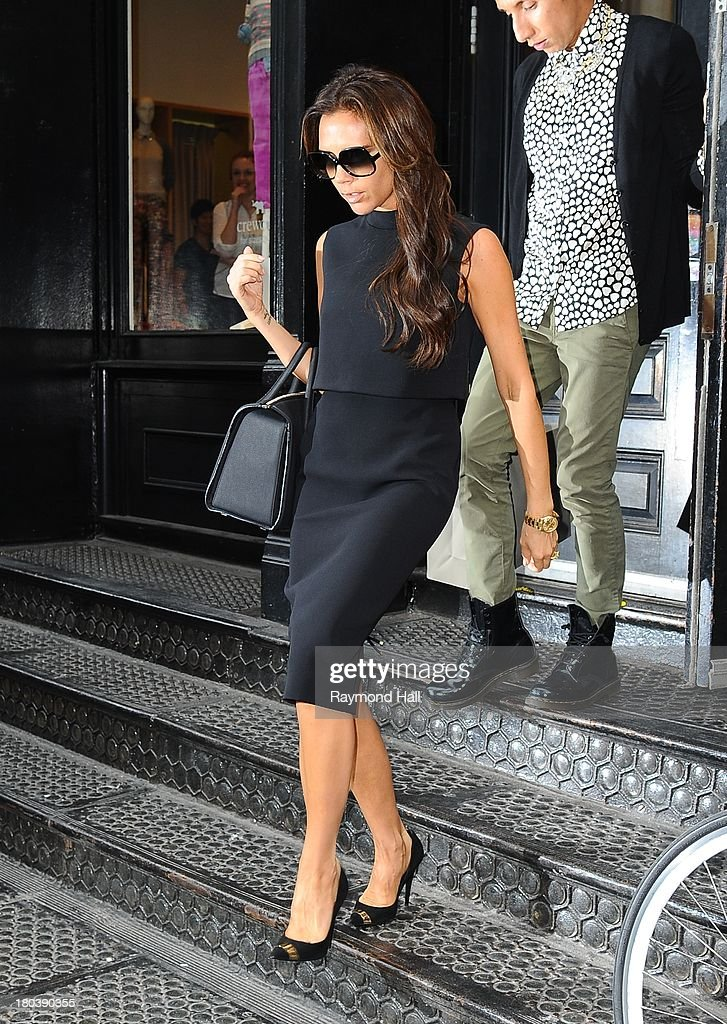 Celebrity Sightings In New York City - September 12, 2013 : News Photo
