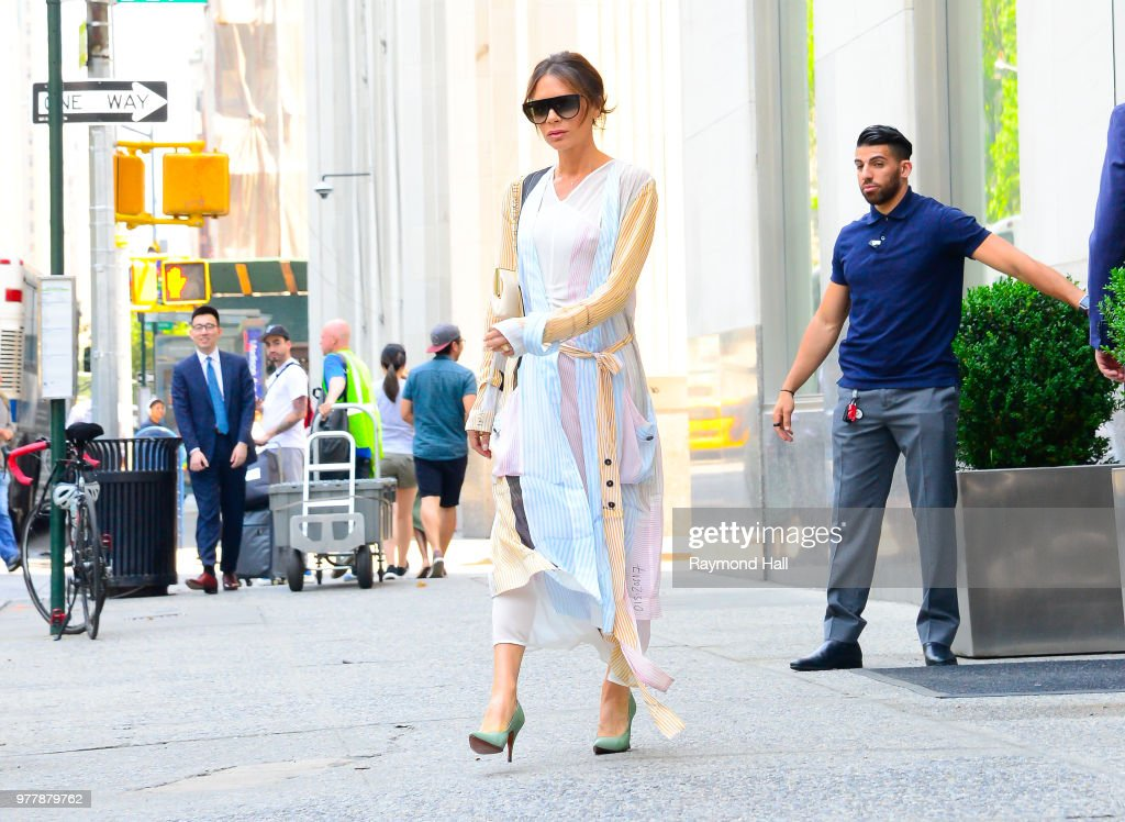 Celebrity Sightings in New York City - June 18, 2018