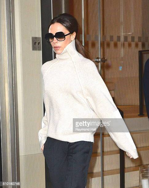 Victoria Beckham is seen walking in Soho on February 14 2016 in New York City