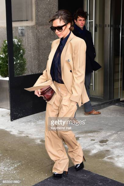 Victoria Beckham is seen walking in Soho on March 15 2017 in New York City