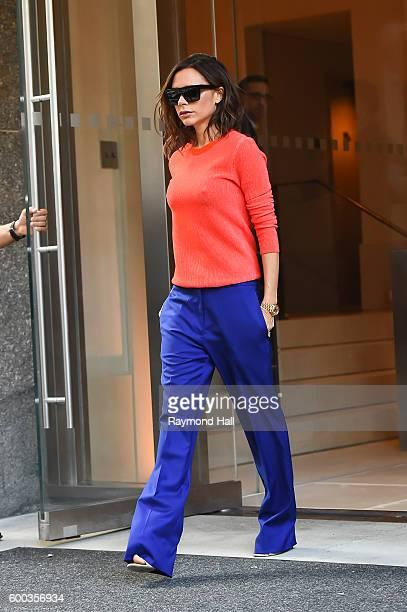 Victoria Beckham is seen walking in Soho on September 8 2016 in New York City