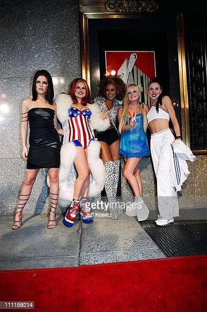 Victoria Beckham Mel C Emma Bunton Geri Halliwell and Mel B from The Spice Girls