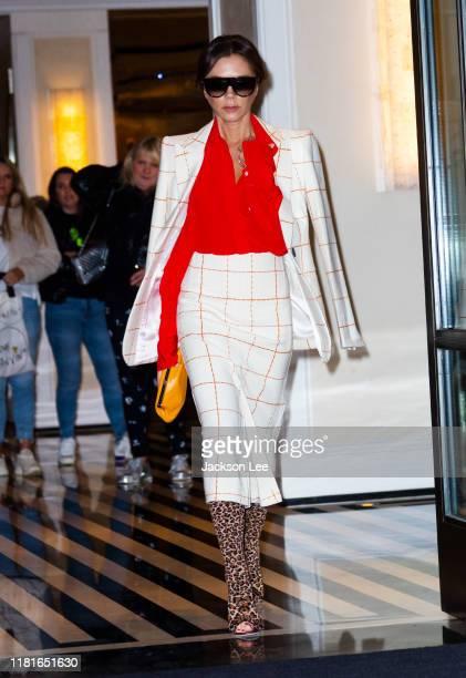 Victoria Beckham on October 17, 2019 in New York City.