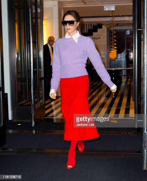 Victoria Beckham out and about on October 15 2019 in New York City