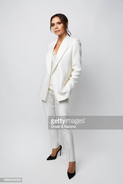 Victoria Beckham poses for a portrait during the 2018 People's Choice Awards at The Barker Hanger on November 11 2018 in Santa Monica California