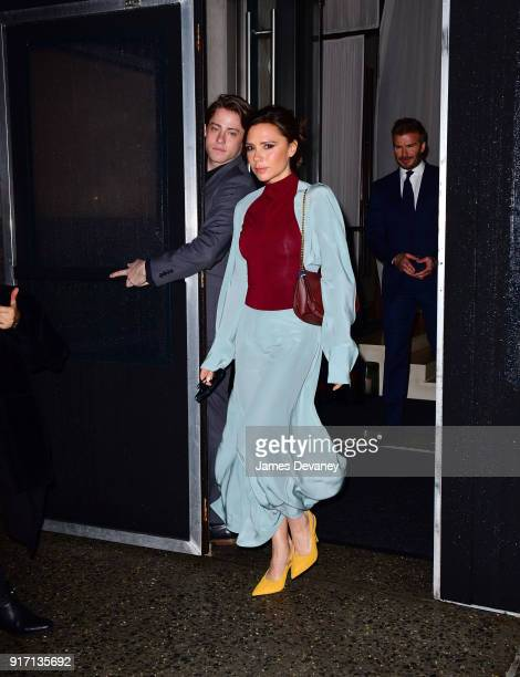 Victoria Beckham seen on the streets of Manhattan on February 11 2018 in New York City