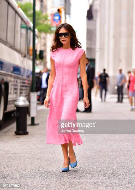 Victoria Beckham seen on the streets of Manhattan on June 19 2018 in New York City