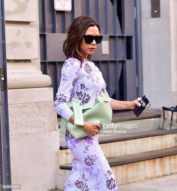 Victoria Beckham seen on the streets of Manhattan on September 11 2016 in New York City
