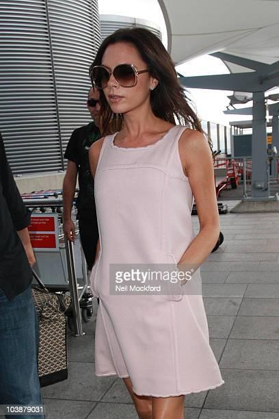 Victoria Beckham sighting on September 7 2010 in London England