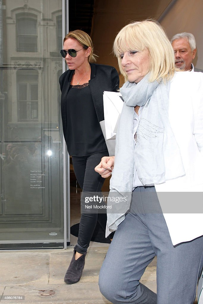 Sightings At The Launch Of Victoria Beckham's Store On Dover Street : News Photo