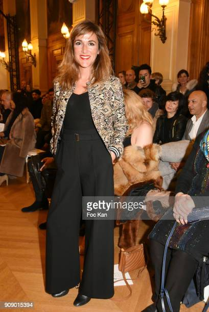 Victoria Bedos attends the On Aura Tout Vu Haute Couture Spring Summer 2018 show as part of Paris Fashion Week on January 22 2018 in Paris France