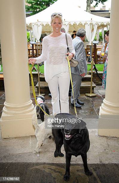 Victoria BondElliott and Lucy attend the Dogs Trust Honours 2013 at Home House on July 23 2013 in London England
