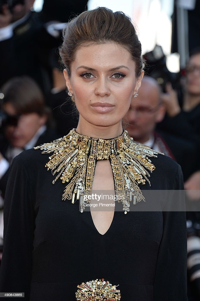 Victoria Bonia attends the 'Mr.Turner' Premiere at the 67th Annual Cannes Film Festival on May 15, 2014 in Cannes, France.