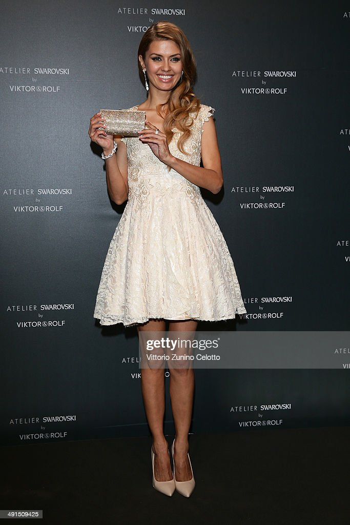 Victoria Bonya attends a party hosted by Swarovski and Viktor & Rolf during the 67th Annual Cannes Film Festival on May 16, 2014 in Cannes, France.