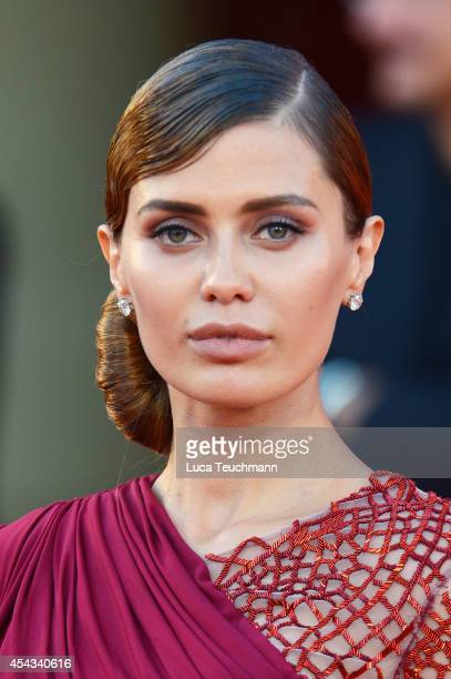 Victoria Bonya attends the '99 Homes' Premiere during the 71st Venice Film Festival at Sala Grande on August 29 2014 in Venice Italy