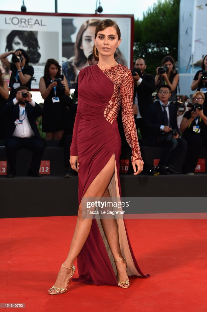 Victoria Bonya attends the '99 Homes' - Premiere during the 71st Venice Film Festival on August 29, 2014 in Venice, Italy.