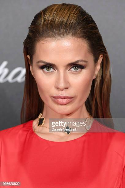 Victoria Bonya attends the Chopard Gentleman's Night during the 71st annual Cannes Film Festival at Martinez Hotel on May 9 2018 in Cannes France