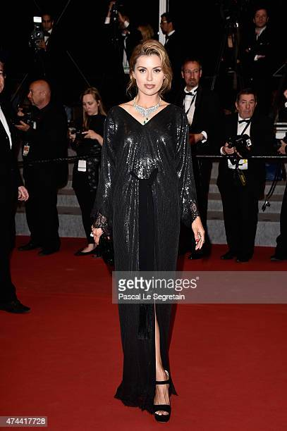 Victoria Bonya attends the 'Chronic' Premiere during the 68th annual Cannes Film Festival on May 22 2015 in Cannes France