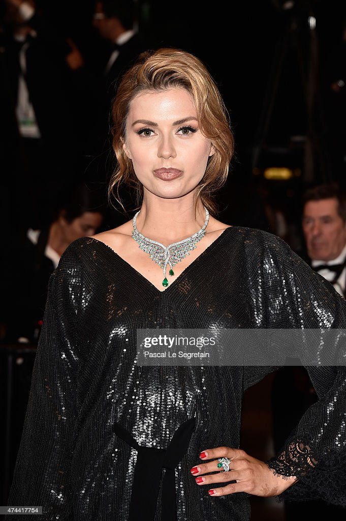 Victoria Bonya attends the 'Chronic' Premiere during the 68th annual Cannes Film Festival on May 22, 2015 in Cannes, France.