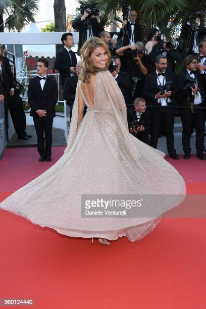 Victoria Bonya attends the Closing Ceremony and the screening of The Man Who Killed Don Quixote during the 71st annual Cannes Film Festival at Palais...