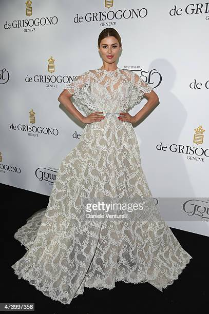 Victoria Bonya attends the De Grisogono party during the 68th annual Cannes Film Festival on May 19 2015 in Cap d'Antibes France