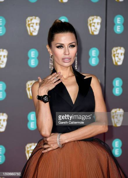 Victoria Bonya attends the EE British Academy Film Awards 2020 at Royal Albert Hall on February 02 2020 in London England
