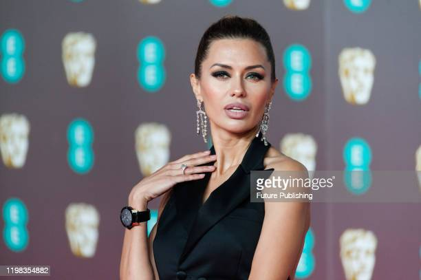 Victoria Bonya attends the EE British Academy Film Awards ceremony at the Royal Albert Hall on 02 February 2020 in London England PHOTOGRAPH BY...